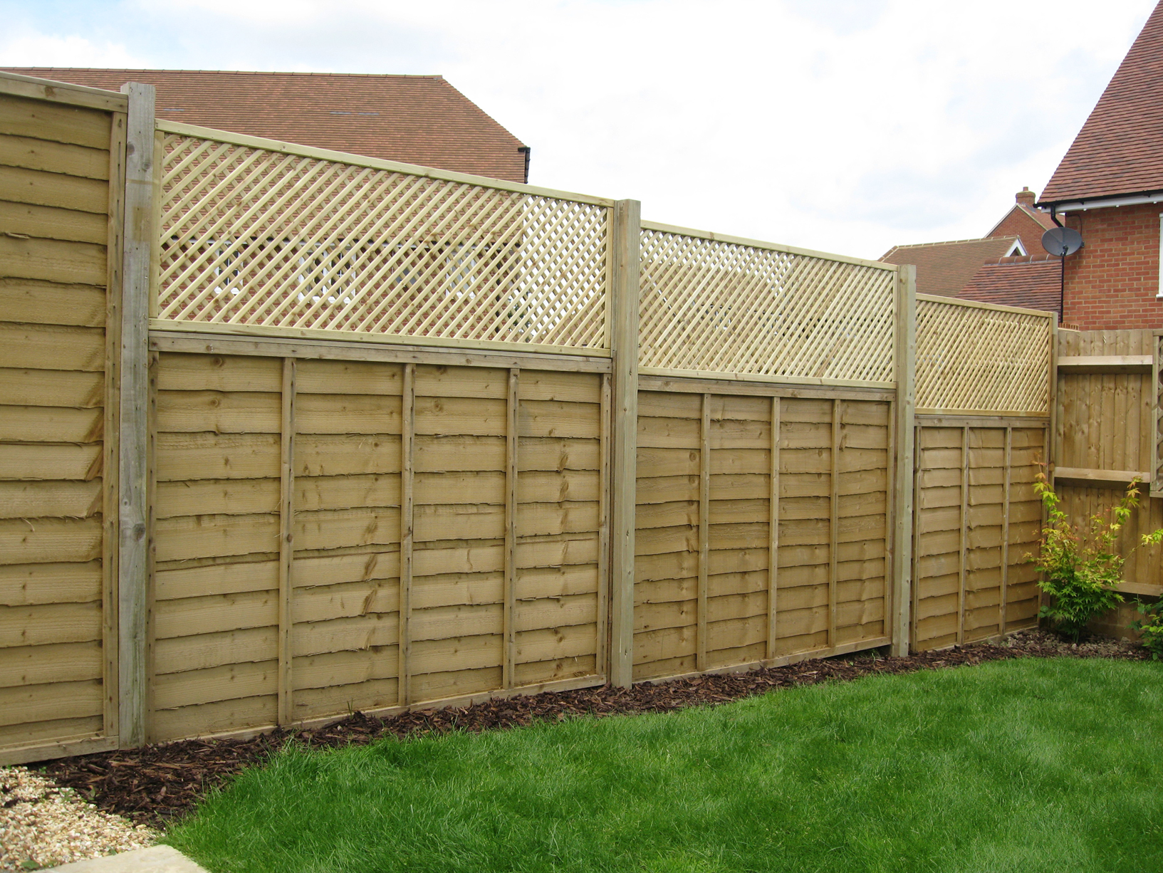 privacy trellis fence 28 images az contracting how to