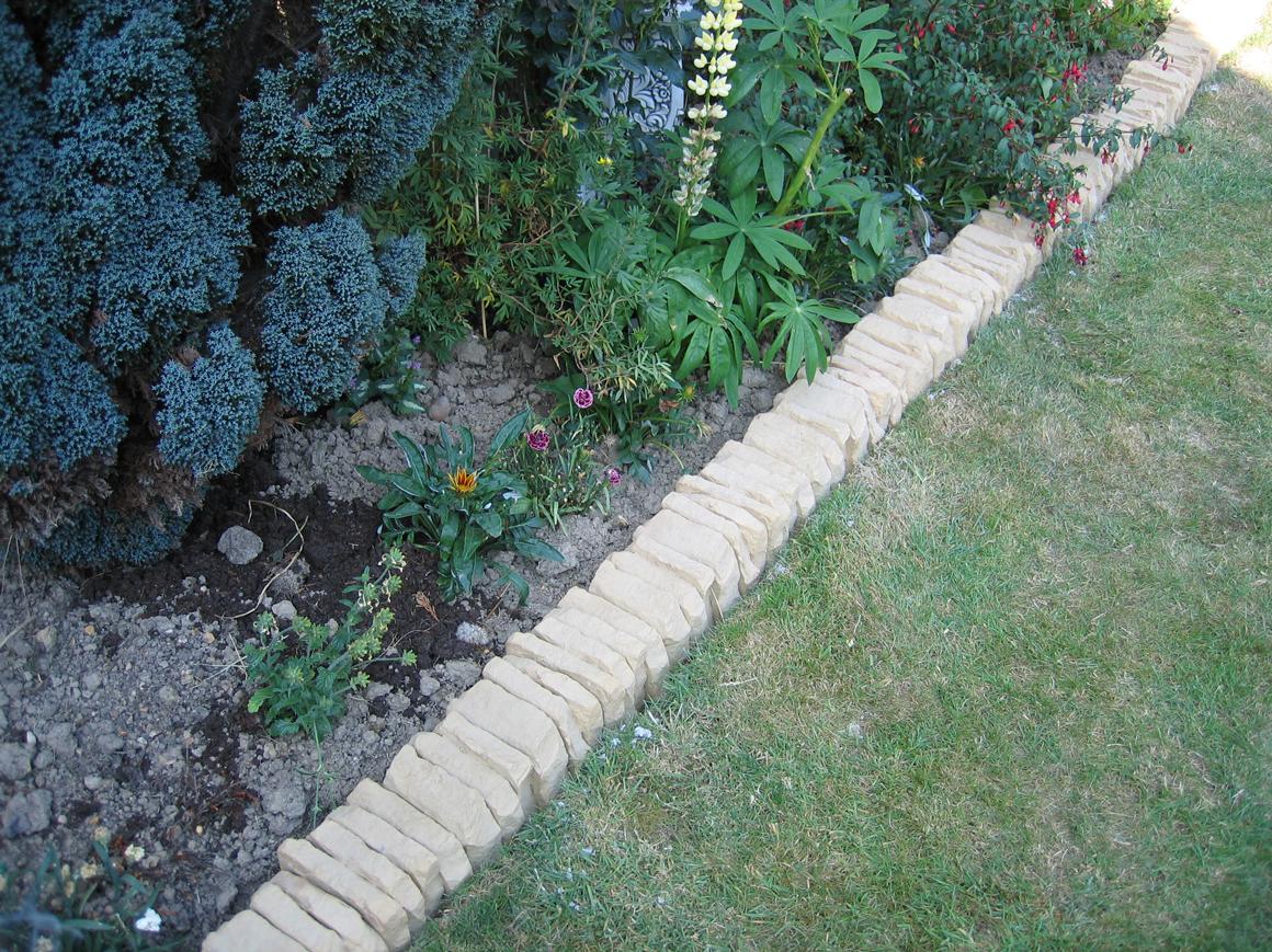 Az contracting for Garden pond edging